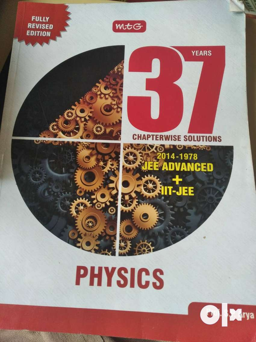 37 years solved IIT JEE Advanced and Main question papers 0