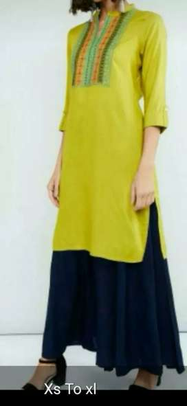 Brand Womens kurtis in wholesale