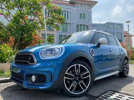 Mini Cooper Countryman 2.0 2019 Blue Panoramic Sunroof PBD #AUTOHIGH