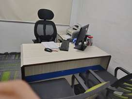 Fully Furnished Office Space without any brokerage for Day Shift.