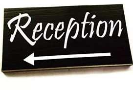 Urgent hiring for recepcionist/tellecaller