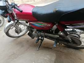 Honda bike 15/16 ha bilkul fit bike ha