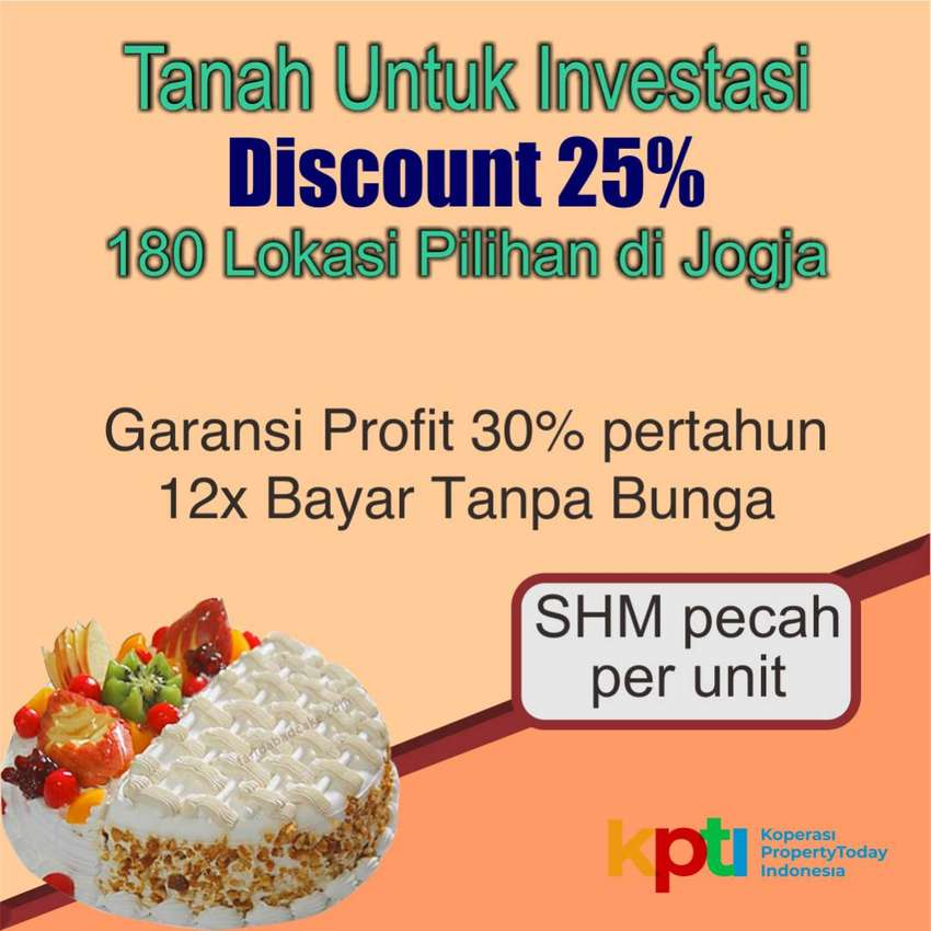 Kavling Murah Prambanan Asri 2 dekat Wisata Candi, Pasti Profit 30% 0
