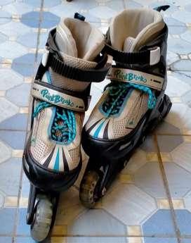 Sepatu roda point break ukuran 32-35