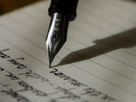 Simply handwriting part time home base job weekly 13000/-