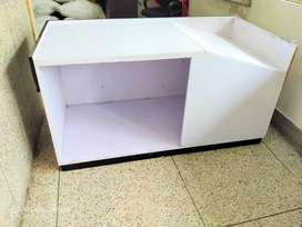 2-counter table with drawer set