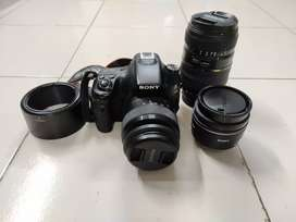 Sony a58 dslr camera working condition