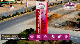 7 Marla  Plot For Sale  on Installments In New Metro City