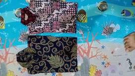 Baju Batik (2 Biji) Size L
