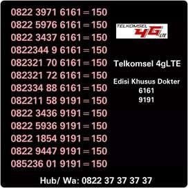 Kartu Perdana Edisi Gigi 4gLTE 6161 9191