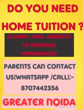 GET EXPERIENCED HOME TUTOR FOR YOUR CHILDREN.