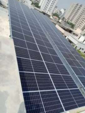 SOLAR SYSTEM FOR YOUR FACTORY HOUSE AND OFFICE WITH 10 YEARS WARRANTY