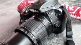 Nikon D3300, single lens 18-55mm, Beatty charger, camera bas