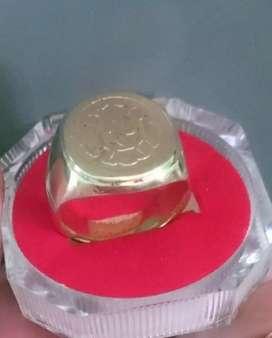 Cincin Stempel Gold