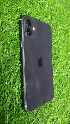Apple iPhone 11 ( Jet Black ) 128 GB fully new mint condition.