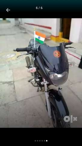 pulsar 150 with working condition and new tyres &battery