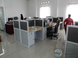 Harga Meja Partisi Kantor 4 x 2 ( Furniture Semarang )