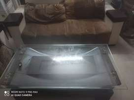 Only in 30000/- 7 seater sofa with table