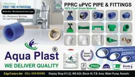 PIPE FITTINGS, PPRC, UPVC, CPVC, WATER TANK