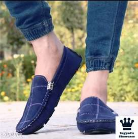 Trendy Blue Colors Driving Loafer Shoe For Men And  Boys Party Wear