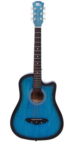 Intern Guitar with Cover | New | Blue Finish
