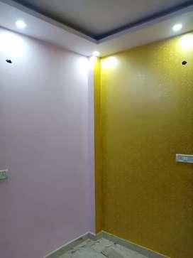 1 Room set at ground floor in uttam nagar west with bike parking