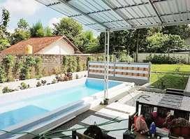 rumah villa kolam renang strategis dan nyaman jakal KM 21 pakem