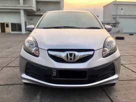 2013 Honda Brio 35rb Km CBU Mesin 1.3 Silver AT Matic