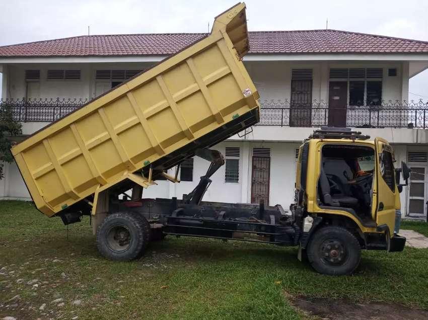 Canter HD 125 dump truk Juli 2018 pribadi 0