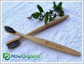 Organic Biodegradable Bamboo Toothbrush