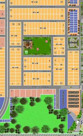 1 kanal residential plot for in rale royal orchard A block