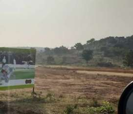 Per Sq Yd Rs 5500/- DTCP plots near to Srisailam Hwy and Pharma city