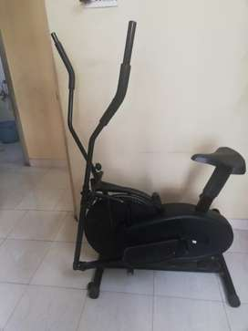 Manual elliptical