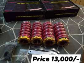 Coilovers/Slicks for honda civic 1995 to 2000
