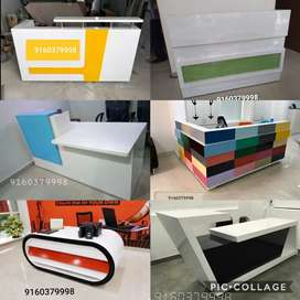 Reception table office tables workstations chairs Confernece tables