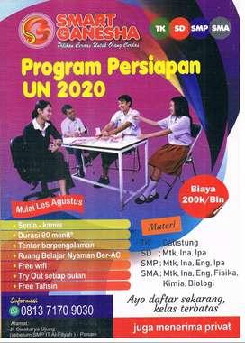 Jasa Les Privat SD, SMP, SMA Pekanbaru