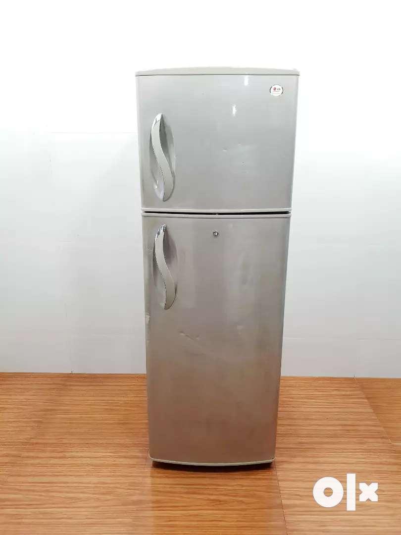 LG double door 5 star rating 270 litre refrigerator 0