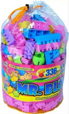 LEGO MR BLOCK ISI 336 PCS