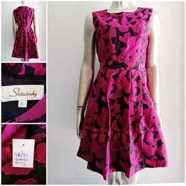 Dress bunga wanita