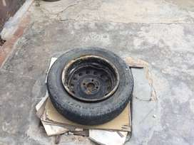 14 size spare wheel avaiLabLe.