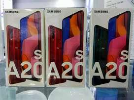 Samsung A20s 3/32GB bunga 0% free 1x angsuran kredit tanpa jaminan