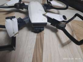 dji spark drone fly more with 2 batteries hardly used