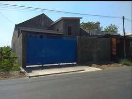Dijual Gudang luas 700m2 Jalan raya Delanggu Jalan akses Kontrainer