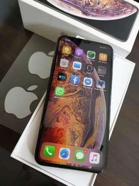 Iphone Xs max 256 gb warna gold