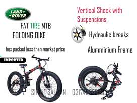 Land Rover Folding Fat Tire Bike MTB