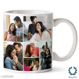 Free Home Delivery Personalized Printed Ceramic White Coffee Mug