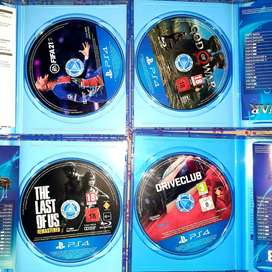 Ps4 physical disc's