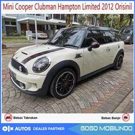 Mini Cooper Clubman Hampton Limited 2012 Orisinil