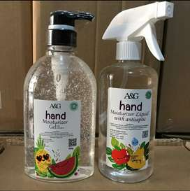 Handsanitizer A&G BPOM / Hand sanitizer A&G BPOM