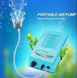 Battery Operated Oxygen Air Pump for Aquarium Fish Tank with Air Stone